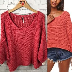Free People Halo Dolman Sleeve Pullover NWT XS